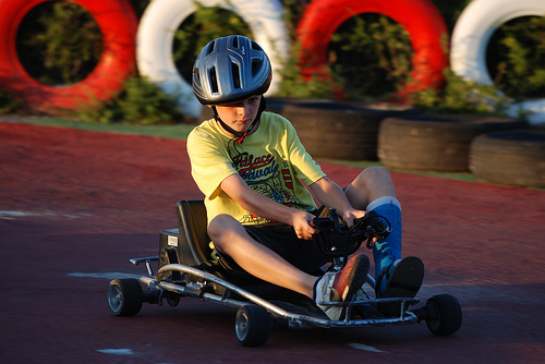 Spanish Go Karting Rudi Corner Racing